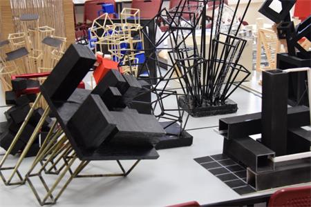 لمسات إبداعية وجمالية من نسج الخيال لطلاب مسار الهندسة المعمارية والديكور الداخلي
