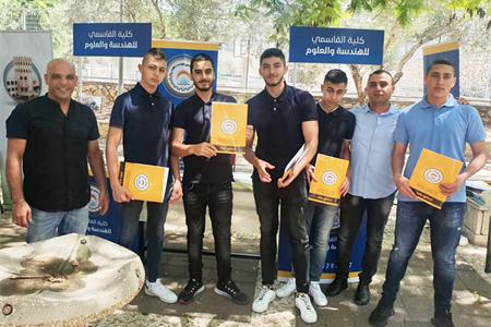 كلية القاسمي للهندسة والعلوم تشارك في اليوم التوجيهي لمدرسة الجليل الثانوية في الناصرة