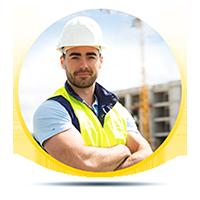 مدير موقع بناء
